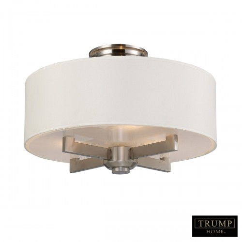 ELK Lighting, Crystal Flush Mount Light, Accentuations Brand, Furniture by ABD