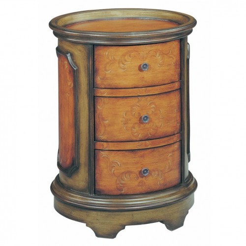 Stein World Natalie Mahogany Lamp Tables for Sale Brooklyn, New York