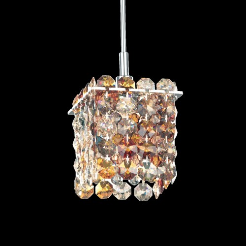 Schonbek Modern Crystal Pendant Chandelier, Furniture by ABD, Accentuations Brand
