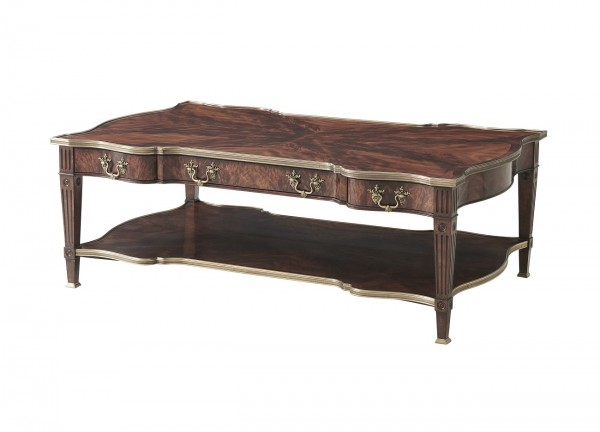 5105 160 A Regal Cocktail Table theodore alexander