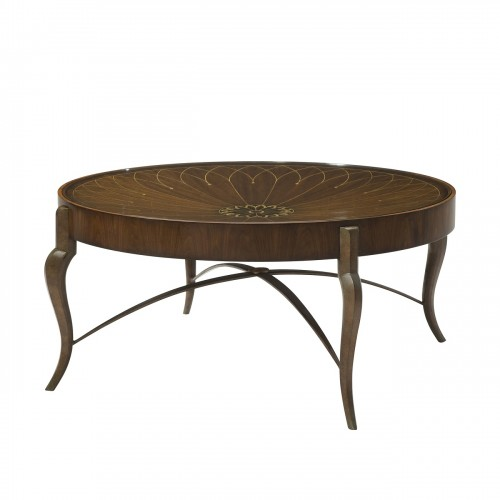 5105 283 String and Dish Cocktail Table theodore alexander