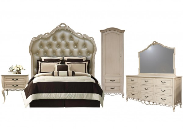 Jennie Bedroom Set, Discount Bedroom Sets For Sale - Accentuations Brand