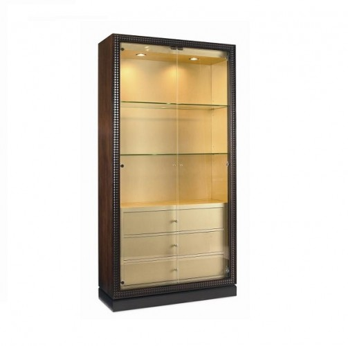 4 Door Buffet Cabinet, Traditional Cabinet Styles Brooklyn - Furniture by ABD
