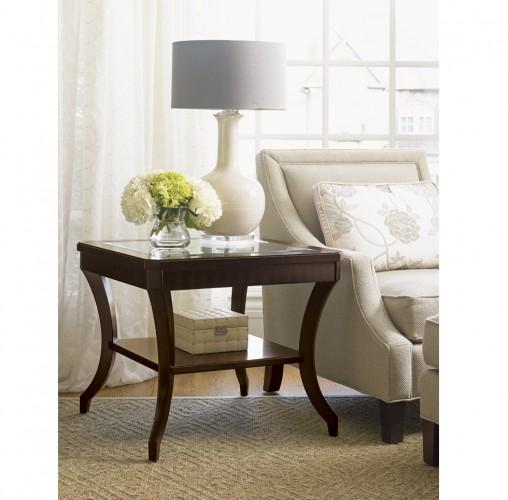 Lexington Kensington Place Hillcrest Mahogany Lamp Tables for Sale