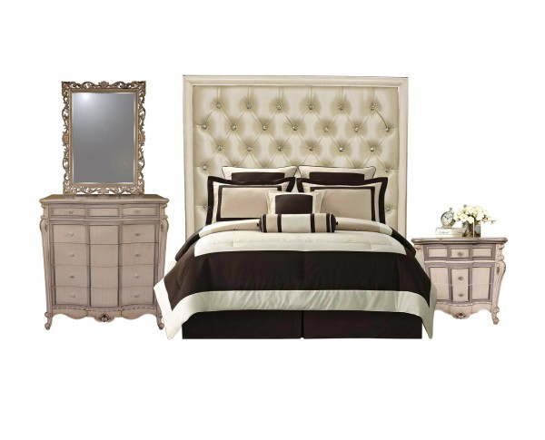 Linor Bedroom Set, Complete Bedroom Sets for Sale Brooklyn - Accentuations Brand
