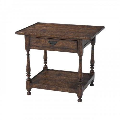AL50159 Butler'S Accent Accent Table Theodore Alexander