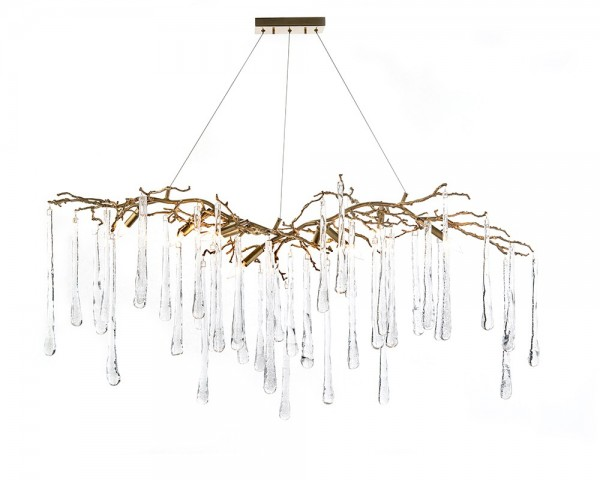 Nine Light Chandelier, John Richard Chandelier