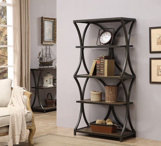 bookcase in livingroom