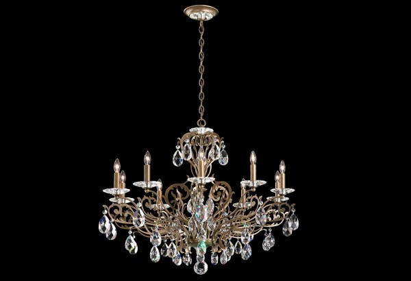 Schonbek Crystal Chandeliers Filigrae Fe7010 Brooklyn, New York – Furniture by ABD