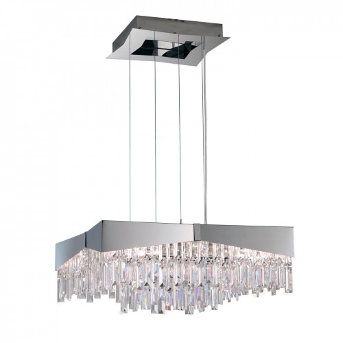 Schonbek Riviera Rf2424 Modern Crystal Pendant Chandelier Brooklyn,New York - Accentuations