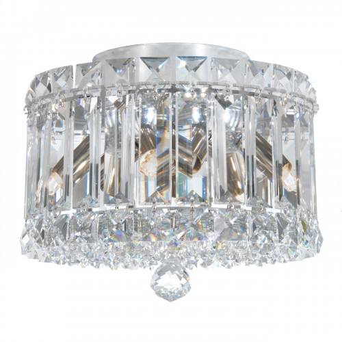 Schonbek close to ceiling crystal light fixtures, Furniture by ABD, Accentuations Brand