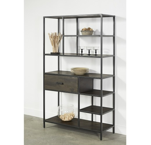 tall multi level bookcase