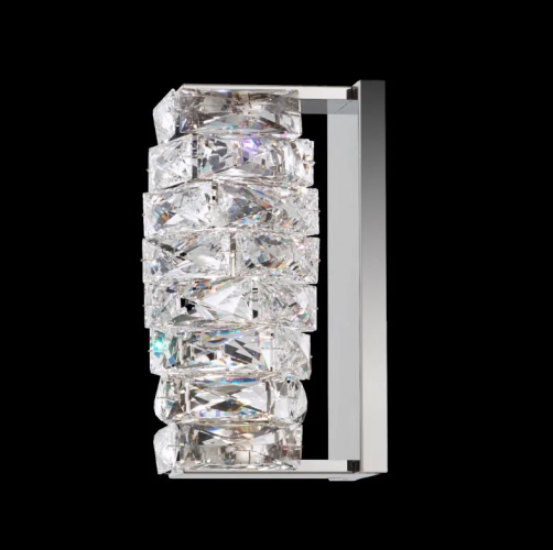 Schonbek Crystal Wall Sconce Brooklyn, New York, Furniture by ABD