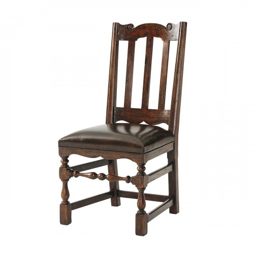CB40013VB Country Seat Side Chair Theodore Alexander