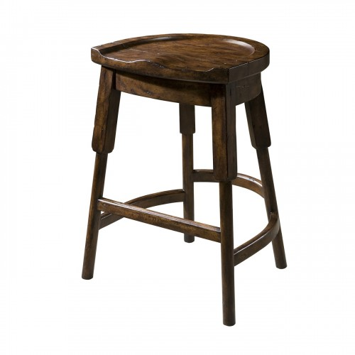 The English Inn Stool theodore alexander 4400 237