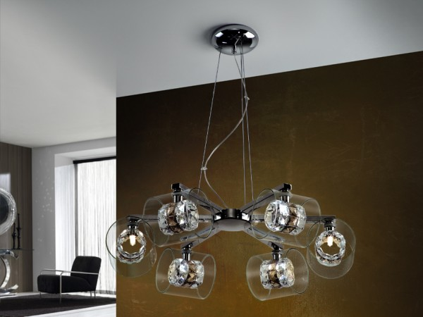 Flash 6l Schuller Pendant Lights Brooklyn,New York by Accentuations Brand