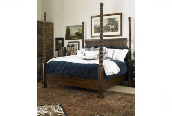 Kings Road Poster Bed, Century Furniture Modern Classic Bedroom Furniture Brooklyn, New York