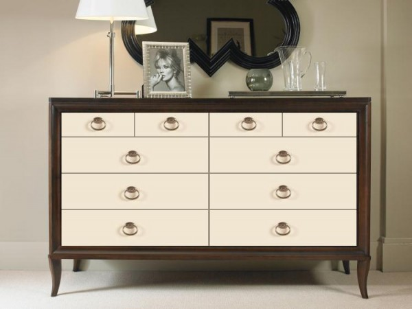 Century Furniture Dresser with Mirrored Drawer Fronts Online Brooklyn, New York