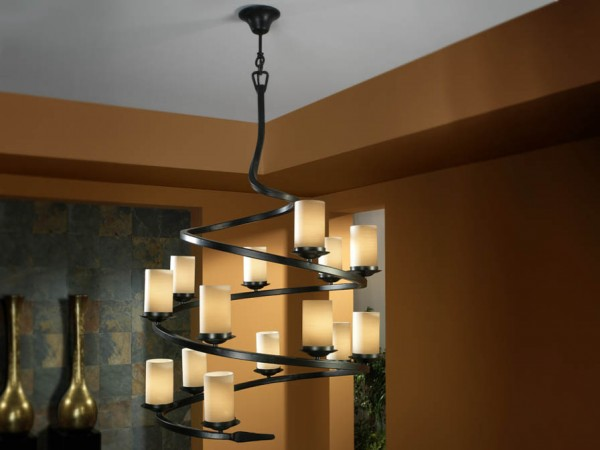Schuller Crisol 14l Pendant Lights Brooklyn,New York by Accentuations Brand