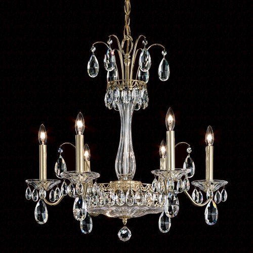 Schonbek Modern Crystal Chandelier for Dining Room Brooklyn, New York, Furniture by ABD