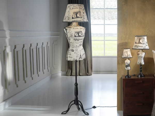 Schuller Vogue Floor Lamp Table Lamps Brooklyn,New York - Accentuations Brand
