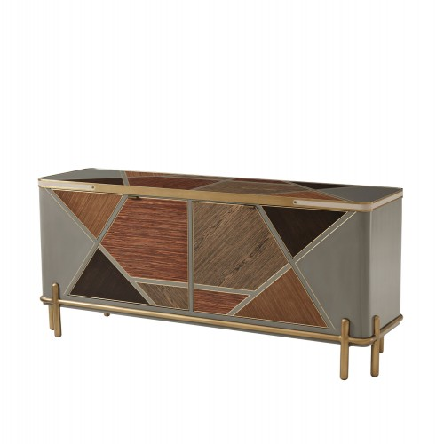 Iconic Cabinet, Theodore Alexander Buffet, Brooklyn, New York, Furniture by ABD