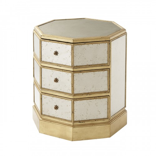 5052 004 Venetian Octagon Accent Table theodore alexander