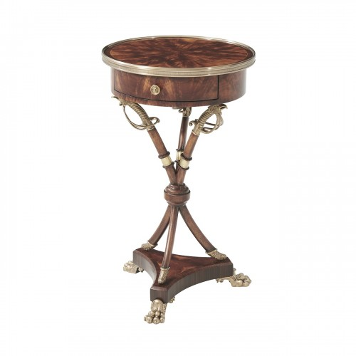 AL50079 Admiralty Lamp Table Theodore Alexander