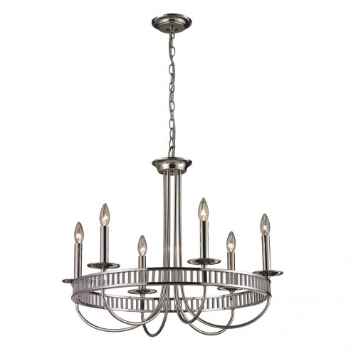 Braxton 102316 Classic Crystal Chandelier ELK Lighting Brooklyn, New York by Accentuations Brand