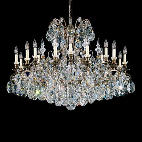 Classic Crystal Chandelier Schonbek, Furniture by ABD, Accentuations Brand, Brooklyn, New York