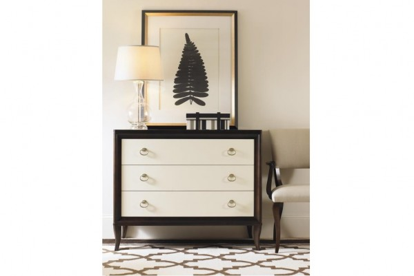 Bachelor Chest with Mirrored Drawer Fronts Century Furniture Brooklyn, New York – Furniture by ABD