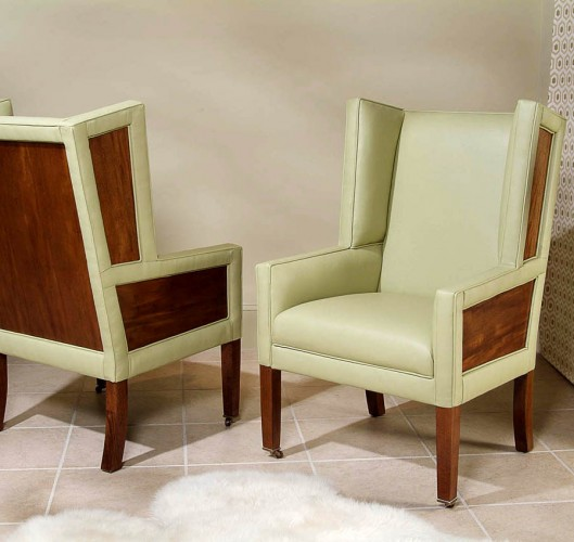 Century Furniture Upholstered Arm Chair Dining Room Brooklyn, New York