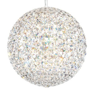 Schonbek   Modern Crystal Pendant Chandelier Brooklyn,New York- Accentuations Brand