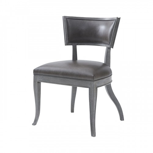 klismos dining chair mahogany noda ebony finish