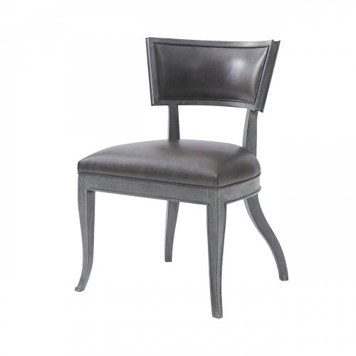 klismos dining chair mahogany noda ebony finish