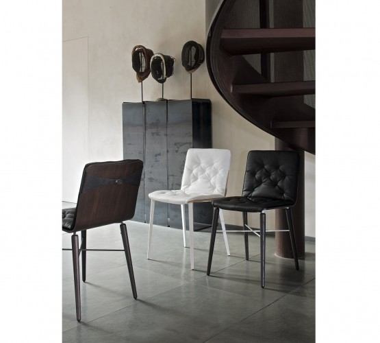 Kate Chair / Wood Legs with Cushion, Bontempi Chairs