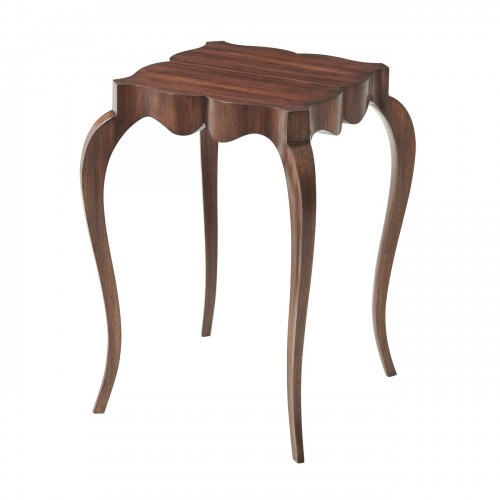 The Tall Fine Point II Accent Table, Theodore Alexander Table, Brooklyn, New York, Furniture by ABD
