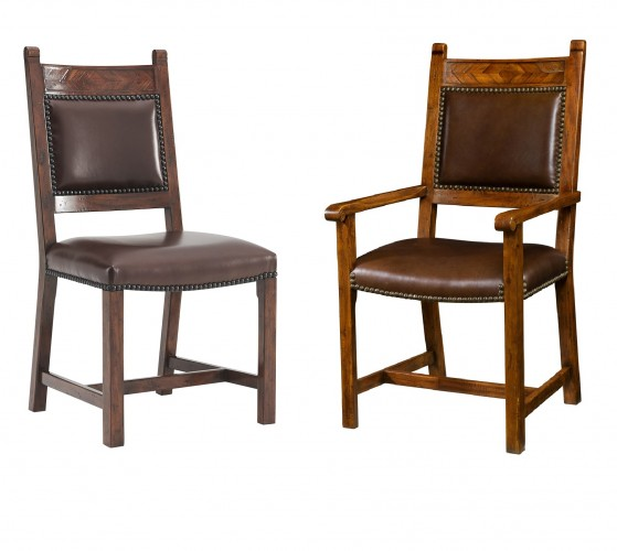 Chevrons Chair, Theodore Alexander Chairs