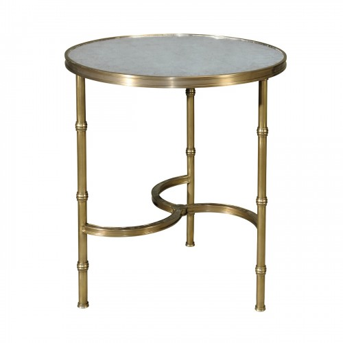 5021 248 Brass All Around Accent Table theodore alexander