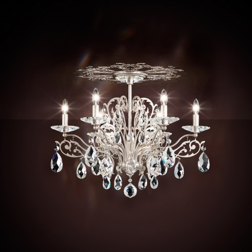 Schonbek Contemporary Crystal Chandeliers, Brooklyn, New York, Furniture by ABD