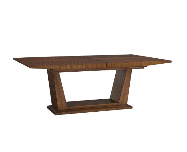 Kitano Caldera Rectangular Dining Table, Lexington Contemporary Dining Tables For Sale