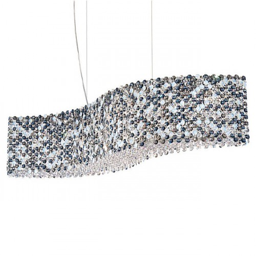 Schonbek Refrax Re3214 Modern Crystal Pendant Chandelier Brooklyn,New York - Accentuations