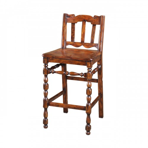 CB42001 Relaxing, In A 17Th Century Kitchen Bar Stool Theodore Alexander