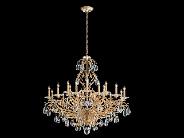 Schonbek Crystal Chandeliers, Brooklyn, New York, Furniture by ABD