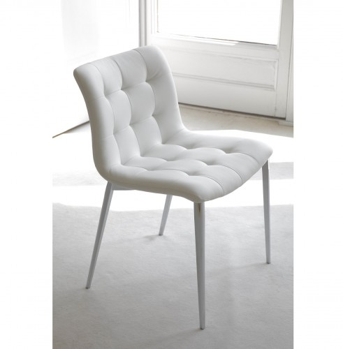 Kuga Chair / Metal Legs, Bontempi CASA Dining Chairs