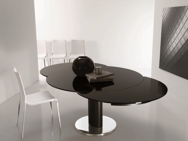 Giro Round II Extension Dining Table, Bontempi Casa Dining Table Brooklyn - Accentuations Brand