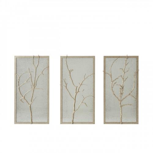 3125 007 Silver Hawthorn Trio Wall Decor Theodore Alexander