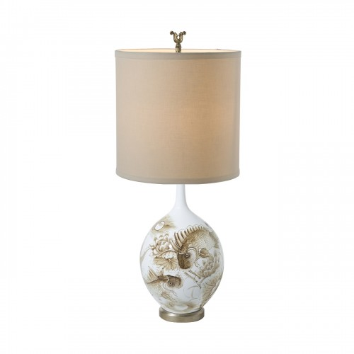 Theodore Alexander Sepia Pond Table Lamp Modern Table Lamps for Sale Brooklyn,New York - Accentuations Brand