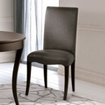 Seven Sedie Luna Chair 0146s Leather Dining Chairs for Sale Brooklyn - Accentuations Brand
