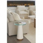 Castlewood Glass Top Accent Table, Lexington End Tables For Sale CheapBrooklyn, New York, Furniture By ABD